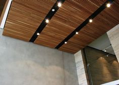 RECESSED LIGHTING IN TIMBER BATTENS - Google Search
