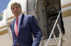 Kerry becomes first to visit dangerous nation