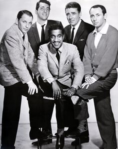 So wish I could have partied with these guys......Frank Sinatra, Dean Martin, Peter Lawford, Joey Bishop and Sammy Davis Jr.