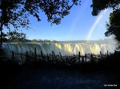 One of our favourite clients, Lori Ann Graham, gives a first hand account of her trip to one of the Seven Wonders of the Natural World: the Victoria Falls. Chutes Victoria, Victoria Falls, Seven Wonders, Holiday Destinations, Natural World, Niagara Falls, Waterfall, The Incredibles, Blog