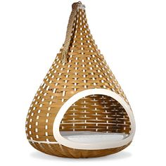 Mini Nestrest Dog Bed from Dedon. Very tempting - and I just might get my own bed back