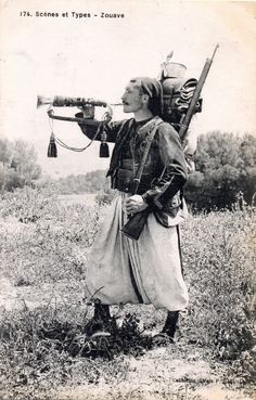 French Zouave in 1914.