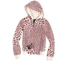 volcom giraffe hoodie, my old fave hoodie!! Got accidently baled at work:(