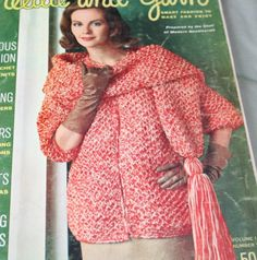 Vintage Knitting Patterns 1963 Needle and Yarn Vol 1 by elanknits (Craft Supplies & Tools, Patterns & Tutorials, Fiber Arts, Knitting, knitting patterns, crochet patterns, sewing patterns, sweater patterns, doll patterns, toy knitting pattern, hood pattern, Needle and Yarn, vintage, figure skating, skirt pattern, jumper patterns, ice skating patterns)