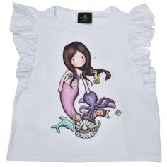 Tricou copii Gorjuss Nice To Sea You Sea, Nice, Mens Tops, T Shirt, Fashion, Supreme T Shirt, Moda, Tee Shirt, Fashion Styles