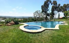 A gorgeous 18,000 gallon pool that we got to recycle last night.