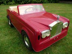 Triang Rolls Royce Pedal Car Barn Find