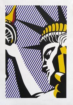Liberty | Roy Lichtenstein, Liberty (1982)