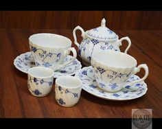 Breakfast Set for Two  Original FINLANDIA 1940s by by RESTOREDau