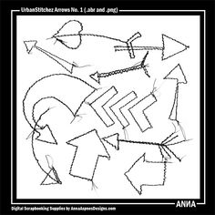 MySt AASPN_UrbanStitchez Arrows No. 1