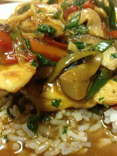 Thai ginger chicken gai pad king recipe ginger chicken dinner thai ginger chicken simply thai cooking class forumfinder Image collections