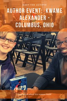 Author Event:  Kwame Alexander - Columbus, Ohio #kwamealexander #swing #columbusohio #undefeated #weneeddiversebooks #childrensfiction #middlegrade #bookstagram #bookstagrammer #ya #youngadult #books #booknerd #bookgeek #ilovebooks #mamapandabear Ya Books, I Love Books, Dare You To Move, Kadir Nelson, Black Authors, Most Popular Books, Psychology Books, Latest Books, Columbus Ohio