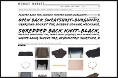 The 9 Best Fashion Start-Ups We're Hooked On #refinery29  http://www.refinery29.com/new-fashion-startups#slide-2  MikkatMarketLaunch Date:December 2010The Elevator Pitch: Want to dress like Katherine Kim? Think modern, urban, sleek, and with an edge à la Rick Owens and Alex Wang. Her personally curated collection welcomes new items for sale each week, along with suggestions on how to style each piece she offers.Why It's Worth Bookmarking:Shop here to find unique items that are not the…