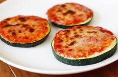 Zucchini Pizza Bites | Skinnytaste | Healthy Meals
