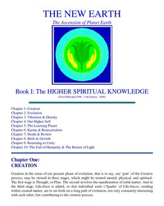 Book 1: The Higher spiritual knowledge...
