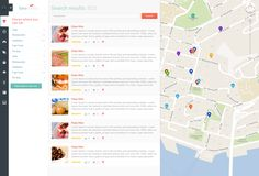 Geometry - geolocation social network by Mattew An, via Behance
