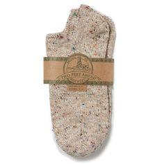 Footie Socks - Oatmeal