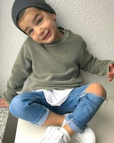 Fashion Confessions - The most beautiful children's fashion products Baby Boy Swag, Cute Baby Boy Outfits, Little Boy Outfits, Toddler Boy Outfits, Kids Clothes Boys, Toddler Boys, Toddler Boy Fashion, Little Boy Fashion, Outfits Niños