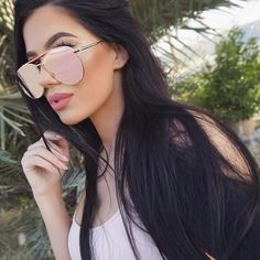 Flat top aviators Retro flat top aviators uv protection hand polished new without tags available in other colors Accessories Sunglasses Ray Ban Sunglasses, Mirrored Sunglasses, Sunglasses Women, Sunglasses Online, Gina Lorena, Laura Badura, Lunette Style, Eyeglasses, Sunnies