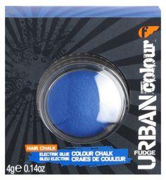 Fudge Urban Electrik Blue Colour Hair Chalk 4g - Boots