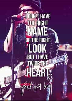 Just One Yesterday -- Fall Out Boy