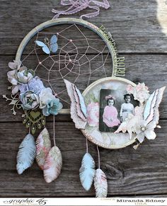 Msliberty Creations: Baby 2 Bride Vintage Dreamcatcher