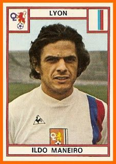 Ildo Maneiro of Lyon & Uruguay in Soccer Cards, Baseball Cards, French League, Lyonnaise, Football Soccer, Fifa, Vignettes, World Cup, Sports