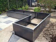 Photo album – Category: Borders – Steel Garden – CorTenstaal - All About