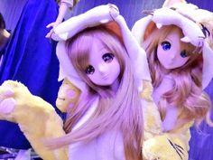 Mirai Suenaga and Kizuna Yumeno Smart Doll by chiralry