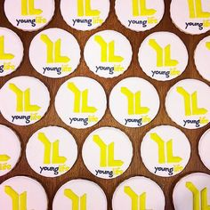 Young Life logo cookies Logo Cookies, Life Logo, Young Life, Banquet, Fundraising, Instagram Posts, Young Living, Banquettes, Fundraisers