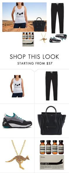 """""""Explore More"""" by canoe-communicationsblog ❤ liked on Polyvore featuring Spell & the Gypsy Collective, MANGO, Under Armour, Animal Planet and Aesop"""