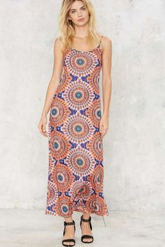 Cassa fashion maxi dress