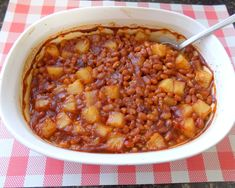 """These beans are super easy to make and delicious. The added pineapple gives it a nice sweet and sour taste, making it hard to resist a second plate. I can't wait to serve these at my next BBQ."""