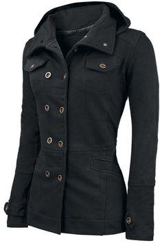 Girls hooded zip by Cushy Coat