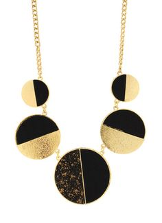 Phases Of The Moon Necklace Set $16.90