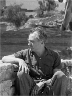 """Izis in Gordes, 1960s  ///  Izis Bidermanas was the most poetic photographer of the Paris school. He belonged to the group of great social French photographers such as Doisneau, Ronis, Brassai, and Cartier-Bresson. With these great masters, he was invited to take part in the 1951 MOMA exhibition entitled """"Five French Photographers."""""""