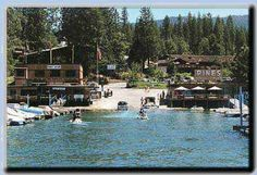 """This is the Pines Lodge at Bass Lake .does it look familiar? This is where John Candy and Dan Akroid filmed the movie """"The Great Outdoors"""". Awesome place to relax! Bass Lake California, Places Ive Been, Places To Go, Future Vision, Lake Cabins, Vacation Spots, The Great Outdoors, Spaces, World"""