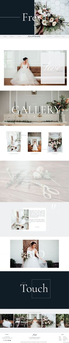 Showit 5 Template for Photographers and Creatives - Showit Website Template - Freya