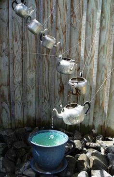 Adorable! #Water #ecology #environment #outdoors #fountains #spa