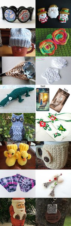 Stocking Stuffers by Tish Keating on Etsy--Pinned with TreasuryPin.com
