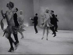 1920's black bottom dance, I see where hip-hop was derived from. N'sync anyone? I chose this one because it shows how people danced