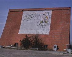 Capitol Drive-in Theater Des Moines Iowa Color Photo Print Belleville Illinois, Photo Negative, Drive In Movie Theater, Des Moines Iowa, Paramount Theater, Aerial View, Historical Photos, Poster Prints, Color