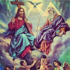 Glory To The Father And  To The Son And To The Holy Spirit  #trinity #father #son #holyspirit #amen #catholic by angelinatha13