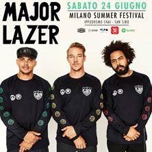 Major Lazer - Biglietti