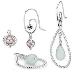 Pandora Earrings With Mix And Match Charms