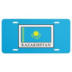 Kazakhstan License Plate