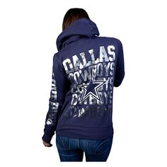 Dallas Cowboys PINK Full Zip Hoody