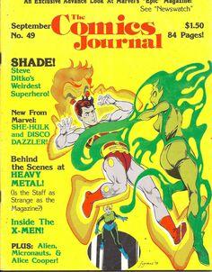 1979+Vintage+Fantagraphics+Comic+Magazine:+The+Comics+Journal+#49