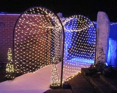 Fairy Light Tunnel | Winter Wonderland | Winter Theme Parties and Events | Christmas Party Ideas | Office Party