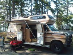 Camping In Class B Campervan At Lake Lanier Georgia